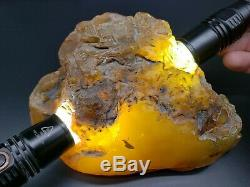 100% Natural Stone 603 Gr Amber Baltic Original Rock Genuine RAW Multicolor S11