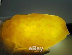107.1 gr Amber Baltic Natural 100% Original Stone Rock Genuine Multicolor C67