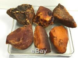 107GR Natural Royal Baltic Amber stones/pendants
