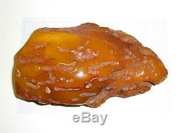 177 gr. Genuine Antique Natural Baltic Amber Raw Stone
