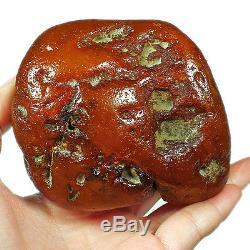 185.1g 100% Natural Baltic Antique intact Butterscotch Egg Yolk Amber UWRL2