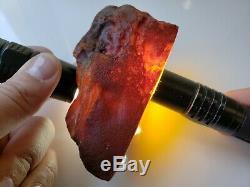 215.9gr 100% AMBER BALTIC NATURAL STONE Pendant RAW GENUINE Amber Multicolor L53