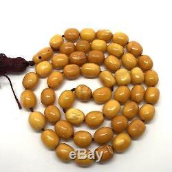 25.2g Natural Baltic Amber Rosary, German