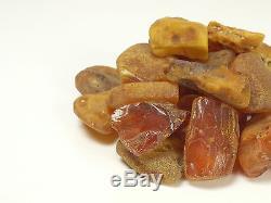 25 Stück Echter Roh Bernstein Rar Amber Stones Natural Baltic 211 Gramm