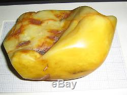 250 gr. Genuine Antique Natural Baltic Amber Raw Stone