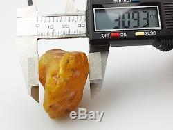 34.42 gr. Natural Butterscotch Egg Yolk BALTIC AMBER STONE