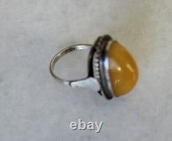 35gr Set of Natural Baltic Egg Yolk Butterscotch Amber Necklace Clips and Ring