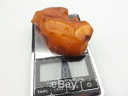 38.11 gr. Natural Butterscotch Egg Yolk BALTIC AMBER STONE