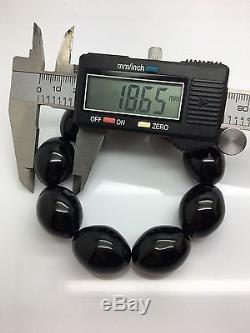 42,6g Natural Baltic Amber Bracelet Cherry Beans Hupo-se