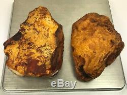 62GR Natural Royal Baltic Amber stones