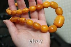 65gr Natural Antique Baltic Amber Necklace Egg Yolk Butterscotch