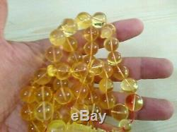 71 gm natural Baltic amber rosary from Poland 71