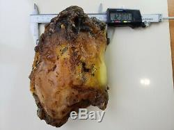 716 Gr 100% AMBER NATURAL BALTIC RAW GENUINE Amber STONE Pendant Multicolor Y