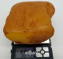 AMBER BALTIC NATURAL STONE 507 gr RAW Pendant GENUINE Amber Multicolor X32