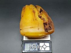 Amber Baltic Raw Stone 349 g Natural Genuine Rock H8