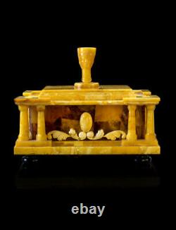 Amber Exclusive Casket Box Of Natural Baltic Amber
