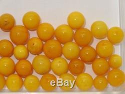 Amber Natural Baltic Egg Yolk Butterscotch Amber Beads
