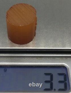 Amber baltic natural raw stone waxwhite Chips Bead Pendant Cabochon