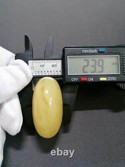 Amber pendant stone 28.09g 100% natural Baltic kahrab kahrman misbah bursztyn