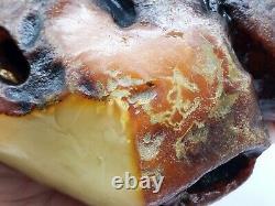 Amber raw stone 1053g natural baltic rock z29