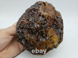 Amber raw stone 1175g natural baltic rock z27