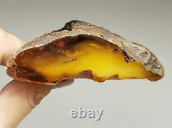 Amber raw stone 183g natural baltic rock m17