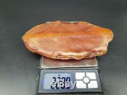 Amber raw stone 228g natural baltic rock j3