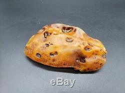 Amber raw stone 233g natural baltic rock j31