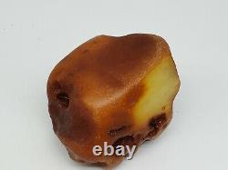 Amber raw stone 332g natural baltic rock e28