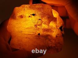 Amber raw stone 417g natural baltic rock k12