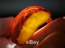 Amber raw stone 59.4g natural baltic rock k10