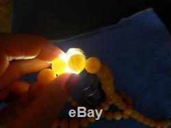 Antiq Bernstein Butterscotch Kette. Natural Baltic Amber Beads