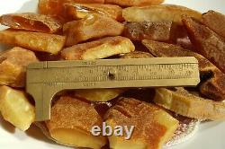 Antique Authentic Baltic Natural Amber Stones 229 G Fast Shipping