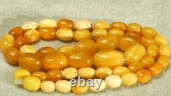 Antique Baltic Natural Amber Necklace 15 G Fedex Fast Worldwide Shipping