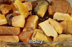 Antique Baltic natural amber raw stones cuts 147 g. CHECK MY SHOP 400 ITEMS