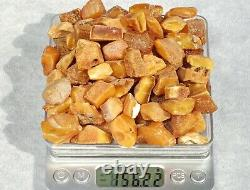 Antique Natural Baltic Amber High Color Class Stones 156 G Fedex Fast Shipping