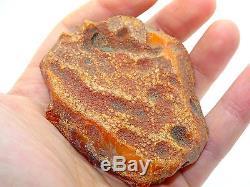 Antique Natural Baltic Egg Yolk Butterscotch Amber 51.7 Grams