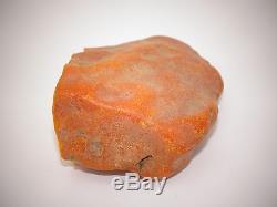 Antique Natural Baltic Egg Yolk Butterscotch Amber 74.3 Grams
