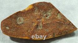 Antique Natural Baltic Old Amber Stone 94 G. Dhl Fast 4-5 Days Worldwide Shipping
