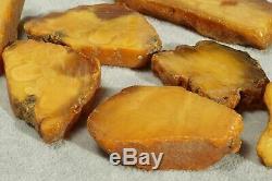 Antique Natural Baltic amber stone cut blocks 112 g. CHECK 400 AMBER ITEMS SHOP