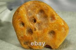Antique Natural Big Rare Color Baltic Amber Stone 105 G Fedex 4-5 Days Shipping