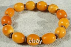 Antique Rare Baltic Natural Amber Hand Bracelet 23 G. Dhl Fast 4-5 Days Ship