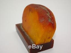 Antique Vintage Natural Egg Yolk Butterscotch Baltic Amber 64.8 Grams
