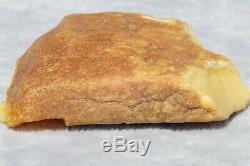 Antique rare white colour natural amber stone 20 grams CHECK MY EBAY SHOP THANKS