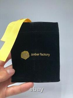 BALTIC AMBER ROSARY 142,9g CAPSULE misbah tesbih 45 prayer beads 100% NATURAL