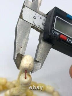 BALTIC AMBER ROSARY 34,6g CAPSULE misbah tesbih 66 prayer beads 100% NATURAL