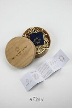 BALTIC AMBER ROSARY 45g CAPSULE NATURAL tesbih 33 prayer beads TURKISH MASTER