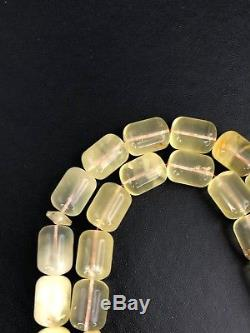 BALTIC AMBER ROSARY SYSTEMA natural 64g 33 tesbih beads Turkish master