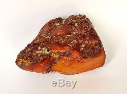 Baltic Amber 261 grams Natural Butterscotch raw rough stone