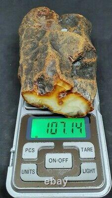 Baltic Amber Stone 107g. Original 100%